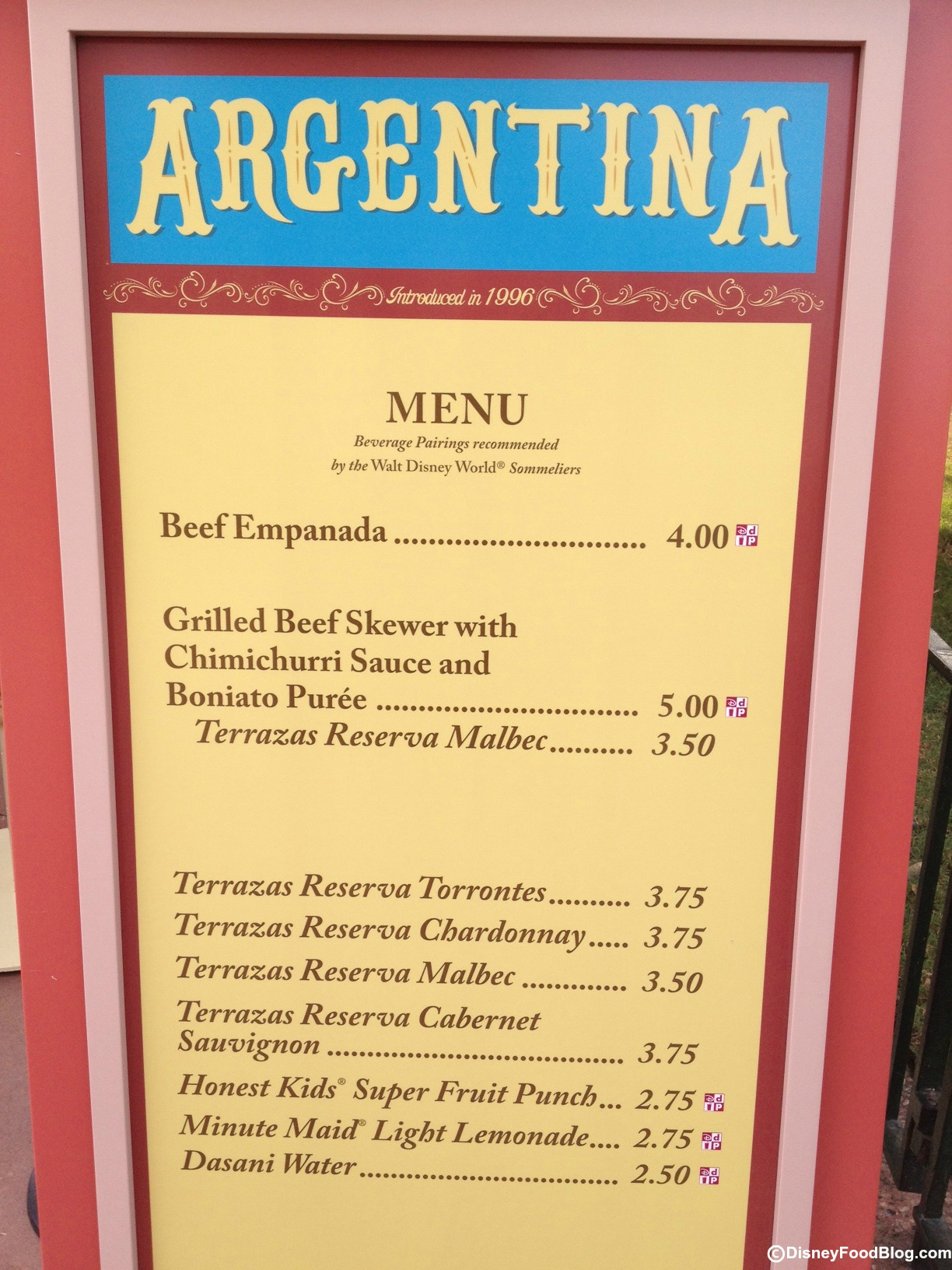 Argentina 2012 Epcot Food And Wine Festival