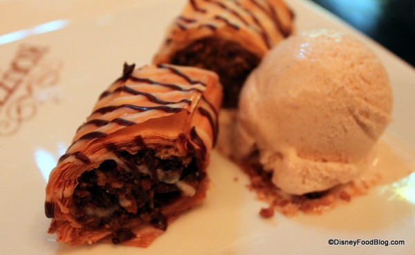 Baklava Dessert Close-Up
