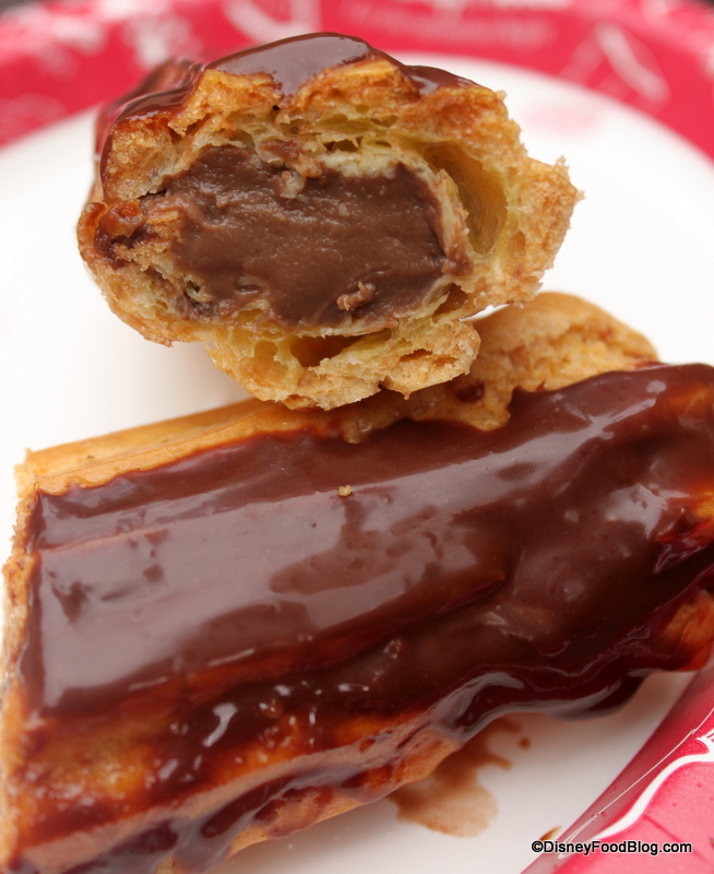 recipe: calories in a chocolate eclair with cream [4]
