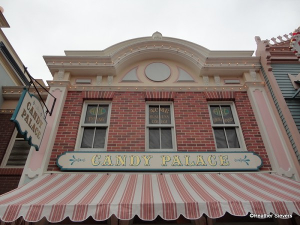 Candy Palace in Disneyland