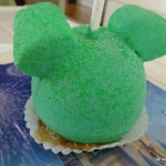Dining in Disneyland: New Mickey Sour Powder Caramel Apple and Goofy Caramel Apple