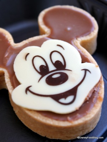 Mickey Tart Close Up
