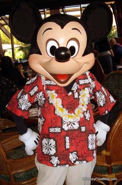 Say Aloha to Mickey and Friends at 'Ohana