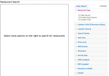 Restaurant Search Tool 1