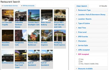 Restaurant Search Tool 3