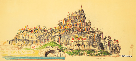 Rock Candy Mountain Original Concept Art