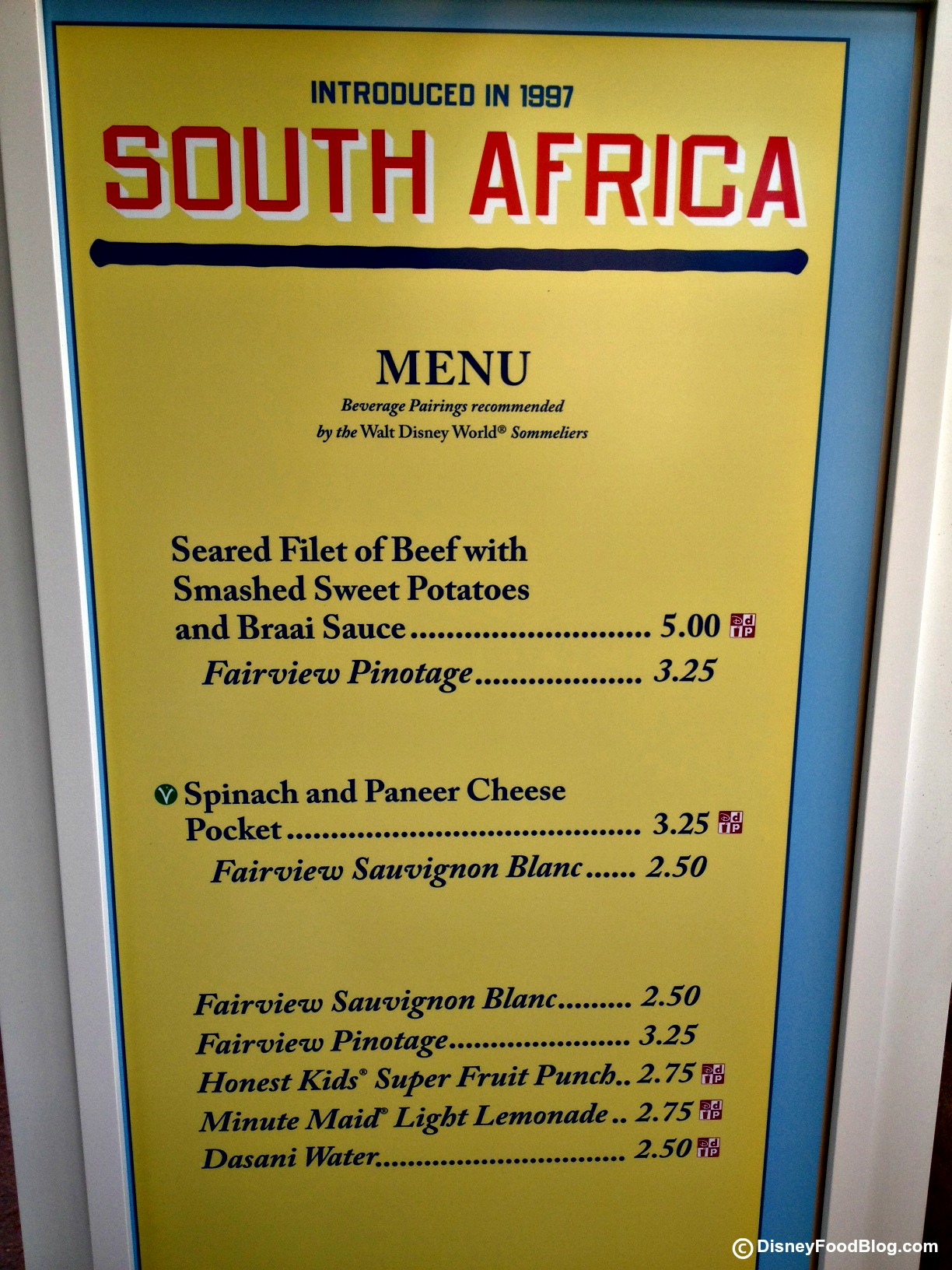 South africa 2012 epcot food and wine festival the for African cuisine menu