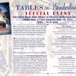 Tables in Wonderland June Event: Great Movie Ride Dinner at Disney's Hollywood Studios