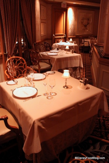 Victoria and Albert's Seating