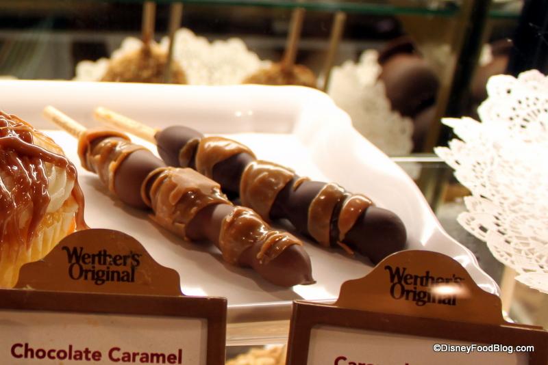Review: Chocolate Caramel Grapes at Karamell-Küche | the disney food ...