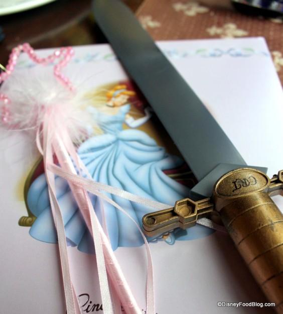 Sword Action at Cinderella's Royal Table