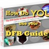 "Enter to Win Our ""How Do You Use YOUR DFB Guide?"" Contest!"