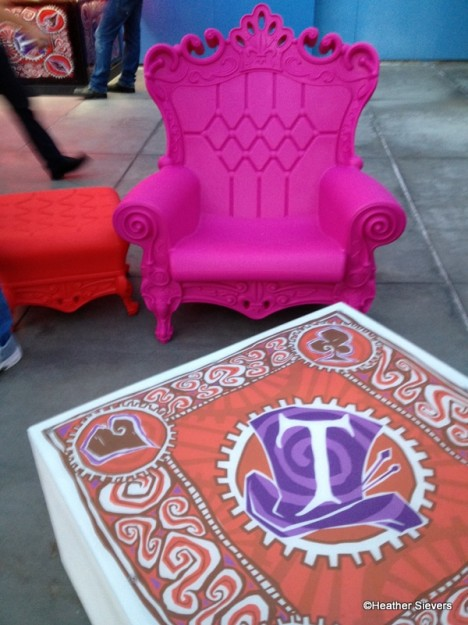 Mad T Party Seating
