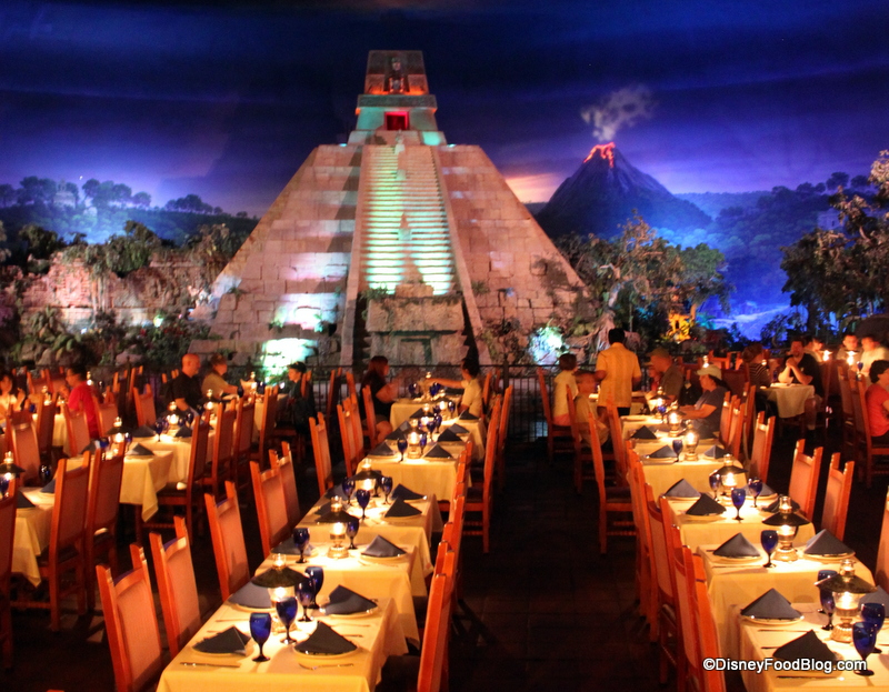 Menu Mexican Restaurant Epcot