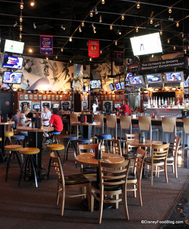 Review Espn Club In Walt Disney World