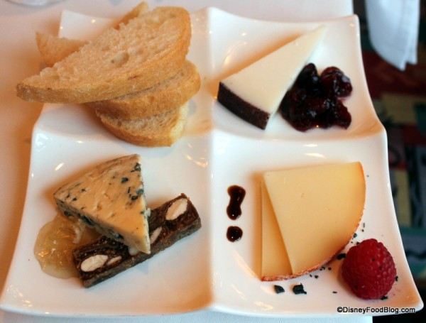 Cheese Plate at Citricos