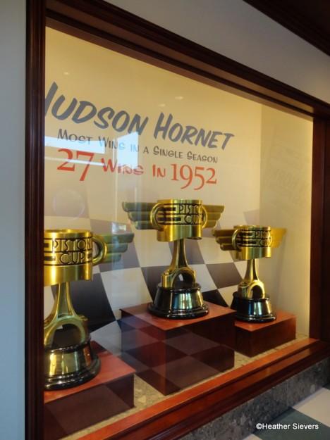 Hudson Hornet Piston Cup Display