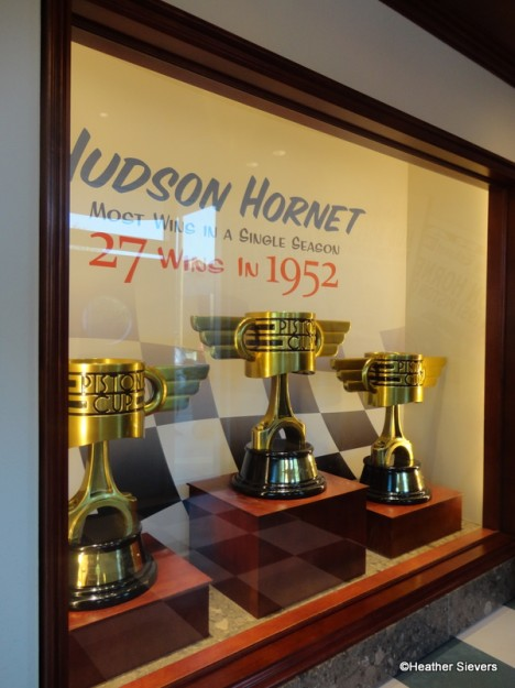 Hudson Hornet Piston Cup Display