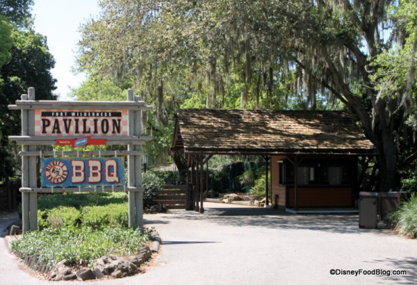 Fort Wilderness Mickey's Backyard BBQ Pavilion Entrance