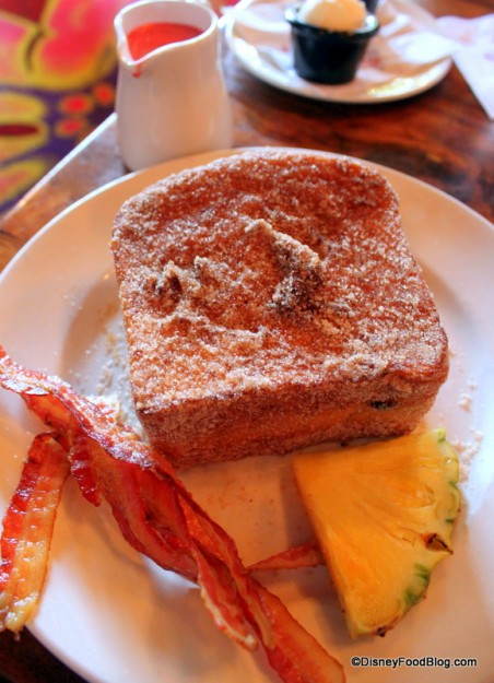 Tonga Toast with Bacon