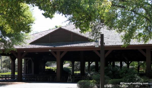 Pavilion Dining Area