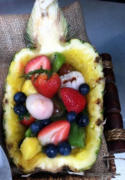 Fruit Bowl at Bradley Falls Kiosk