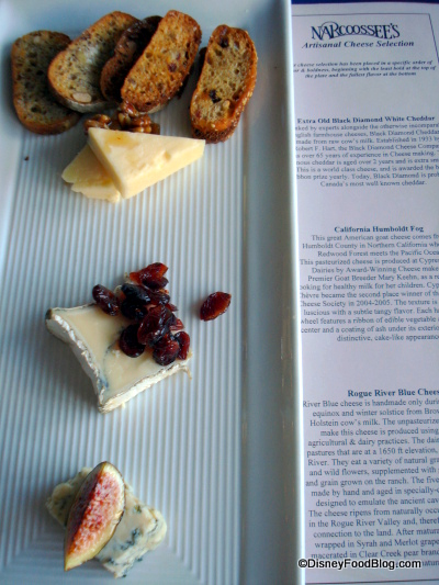 Narcoossee's Cheese Plate