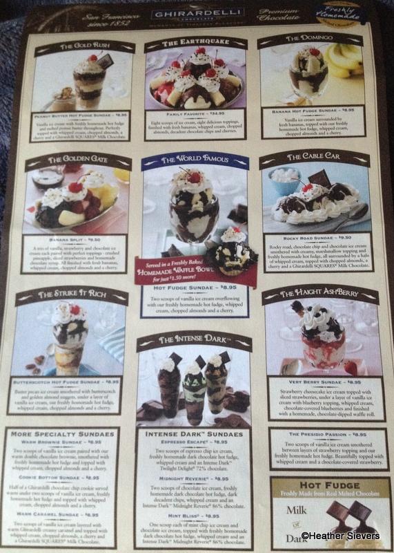 Ghirardelli San Francisco Ice Cream Ghirardelli Ice Cream Sundae