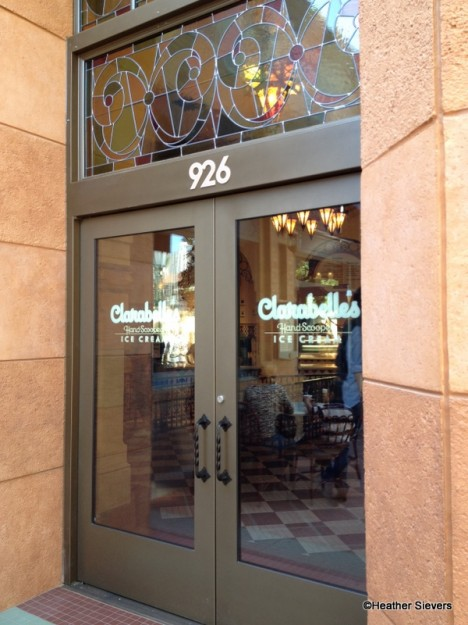 Entrance to Clarabelle's