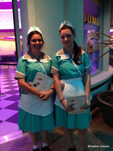 Cast Members at Flo's