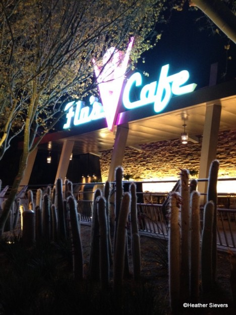 First Look Flo S V8 Cafe Revs Up For Business In Disney