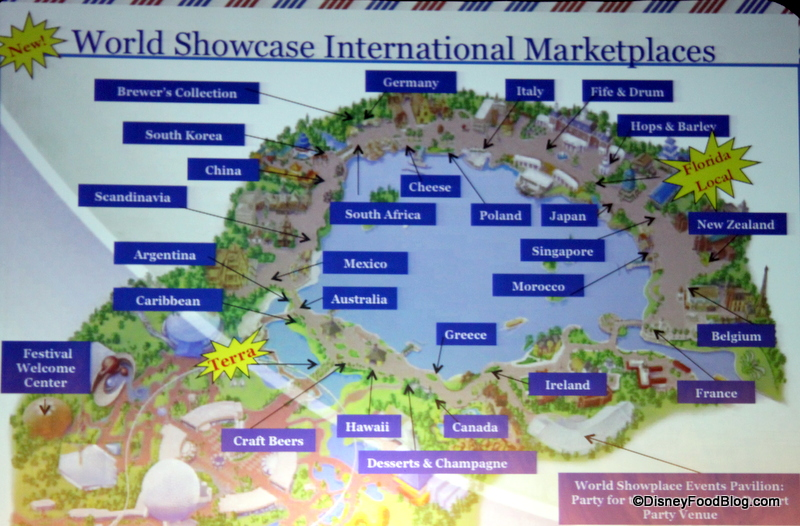 And Food Wine Map 2017 Epcot Festival 10