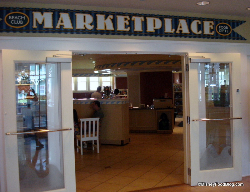 Beach Club Marketplace Entrance