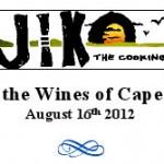 News! Jiko Wine Dinner August 16, 2012, at Disney's Animal Kingdom Lodge