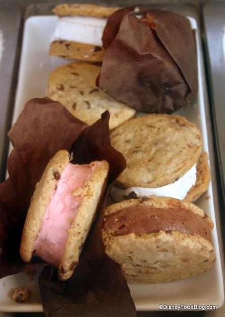 Pre-Made Gelato Cookie Sandwiches