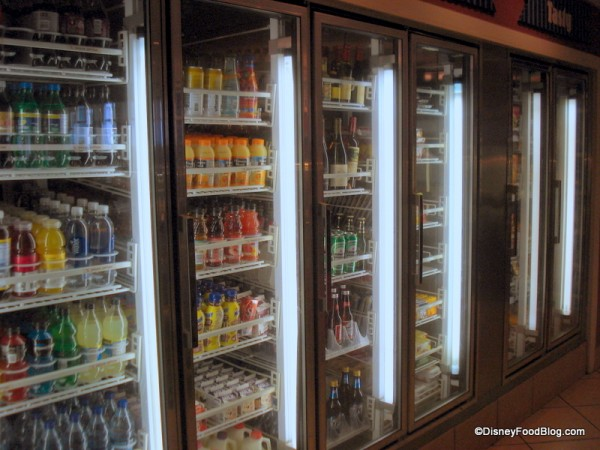 Extensive Refrigerated Section