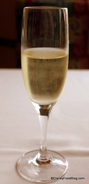 Sparkling Wine at Citricos!