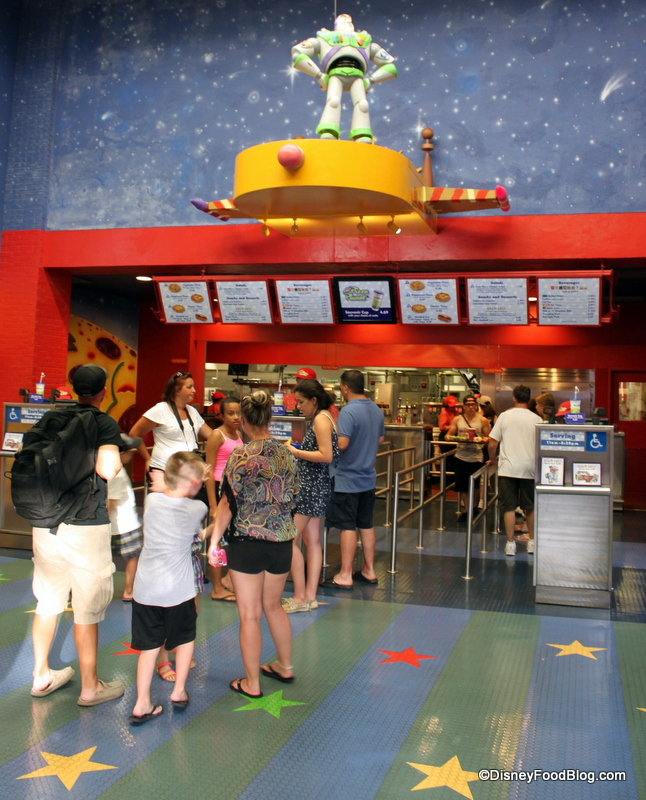 Review Pizza Planet At Disney S Hollywood Studios
