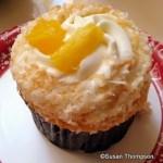 New! Pineapple Coconut Cupcake at Epcot's Sunshine Seasons
