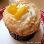 New! Pineapple Coconut Cupcake at Epcot's Sunshine Seasons