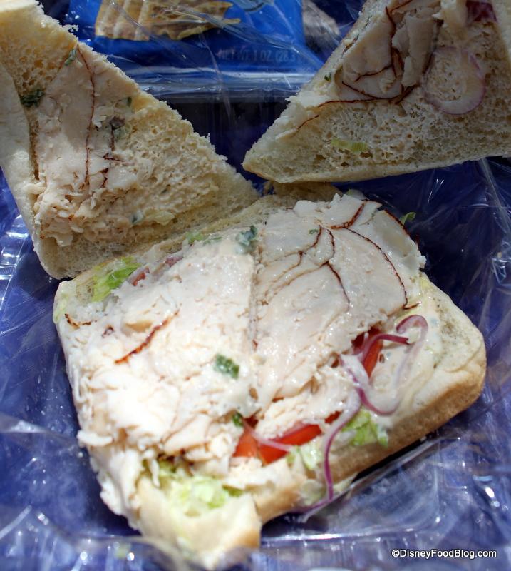 Asian Chicken Sandwich open face. Ho hum.