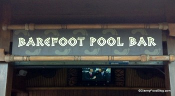 Barefoot Pool Bar Polynesian Resort