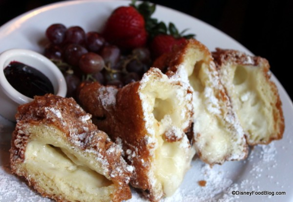 Three-Cheese Monte Cristo at Disneyland's Cafe New Orleans