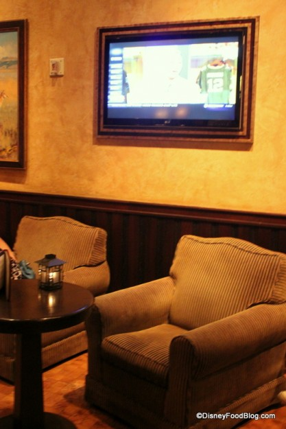 Comfy Chairs and the Framed Flatscreen