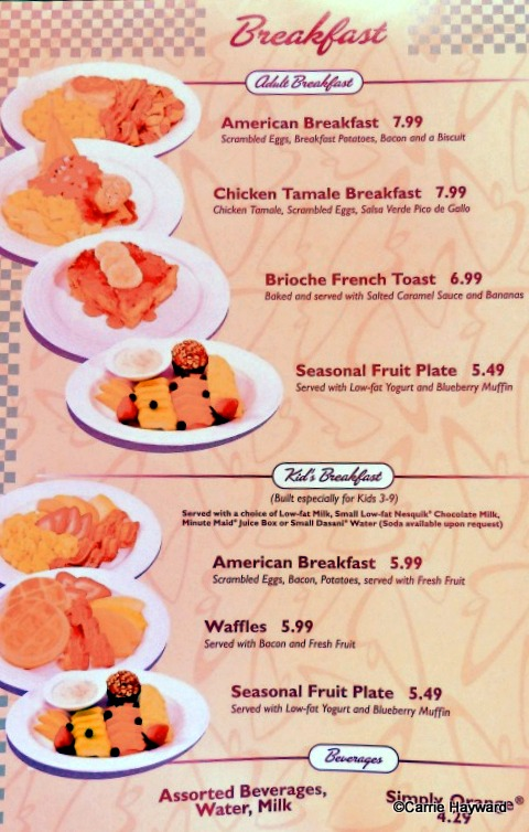 Flo S Cafe Menu