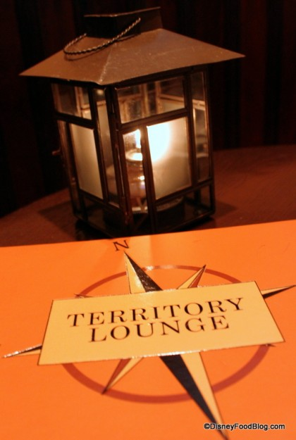 The Territory Lounge at Disney's Wilderness Lodge
