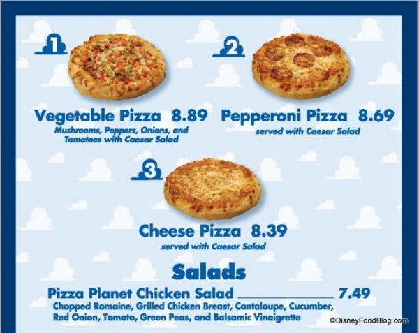 Review: Pizza Planet at Disney's Hollywood Studios