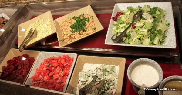 Assorted Salads with House Made Dressings