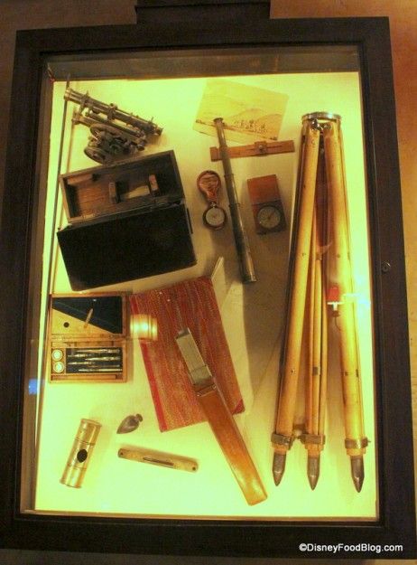 Cool Shadowboxes Use Old Expedition Tools as Decor