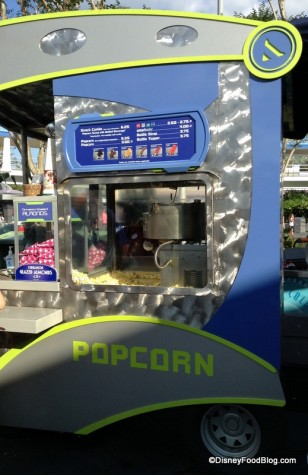 Tomorrowland Popcorn Cart